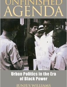 UNFINISHED AGENDA