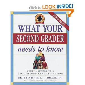 What Your Second Grader Needs to Know