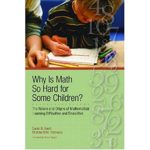 Why Is Math So Hard for Some Children?